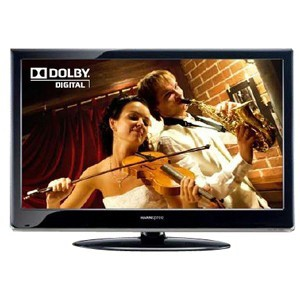 "HANNSPREE 55"" WIDESCREEN LCD TV FULL HD 1080P 100HZ HDMI X 4 BLA"