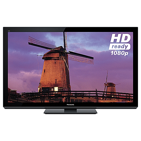 "PANASONIC 50"" TX-P50VT30B PLASMA HD 1080P 3D TV, 50"" WITH BUILT-"