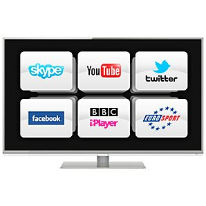 "PANASONIC 42"" TX-L42DT50B LED HD 1080P 3D SMART TV"