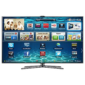 "SAMSUNG 40"" UE40ES7000 LED HD 1080P 3D SMART TV WITH FREEVIEW/FR"