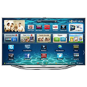 "SAMSUNG 40"" UE40ES8000 LED HD 1080P 3D SMART TV WITH FREEVIEW/FR"