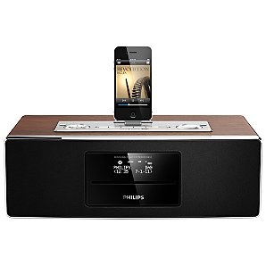 Philips DCB852 DAB/FM/CD Clock Radio iPod/iPhone/iPad Dock