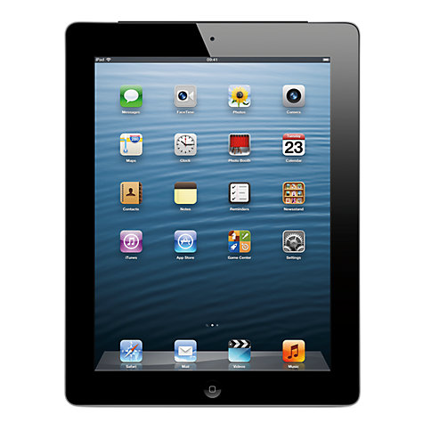 APPLE IPAD WITH RETINA DISPLAY 128 GB WIFI BLACK