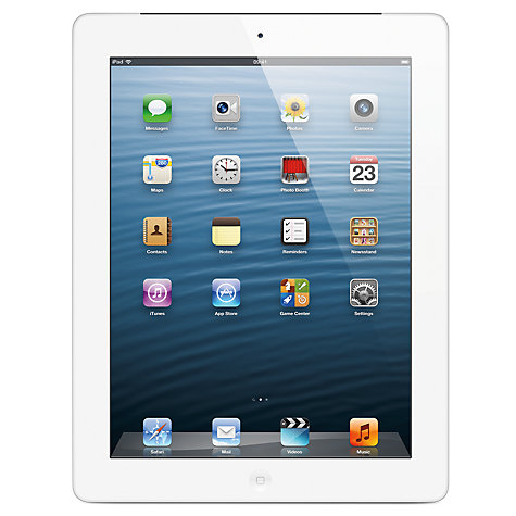 APPLE IPAD WITH RETINA DISPLAY 128 GB WIFI WHITE