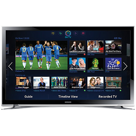 "Samsung UE22F5400 LED HD 1080p Smart TV, 22"" with Freeview HD, B"