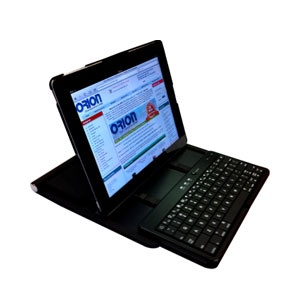 Type Master Bluetooth Keyboard Case for iPad 2 - Black