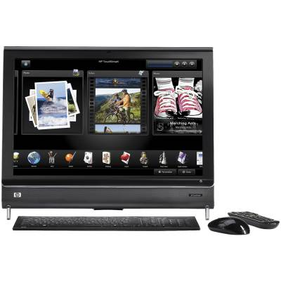 HP TOUCHSMART IQ500 CORE2 DUO T5850 / 4GB / 500GB / 22""