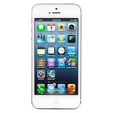 APPLE IPHONE 5 64GB WHITE & SILVER