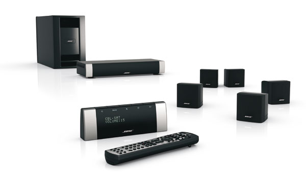 BOSE LIFESTYLE V10 HOME ENTERTAINMENT SYSTEM IN BLACK