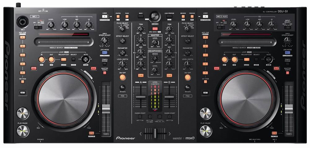 PIONEER DDJ-S1 DJ CONTROLLER FOR SERATO ITCH
