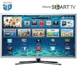 "SAMSUNG 37"" UE37ES6710 SMART 3D LED TV 1080P TV FREEVIEW HD WHIT"