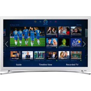 "SAMSUNG 22"" UE22F5410 LED HD 1080P SMART TV FREEVIEW HD WHITE"