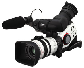 CANON DM-XL2 3CCD MINI DV CAMCORDER
