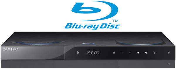 SAMSUNG BDC8500M BLU-RAY PLAYER WITH FREEVIEW HD AND 500GB HDD