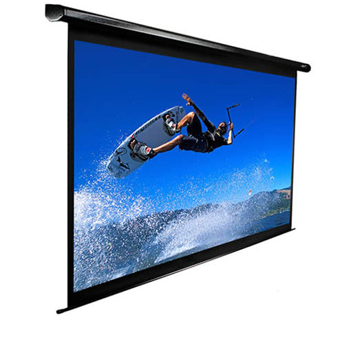 ELITE ELECTRIC100H ELECTRIC PROJECTOR SCREEN BLACK