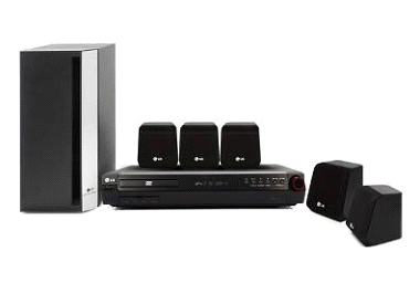 LG HT302SD 300W REGION 2 HOME CINEMA SYSTEM IN BLACK