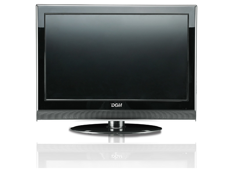 "LTV-1961WCR 19"" Wide Screen Digital LCD TV with DVD, Card Reader"