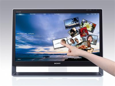 "Sony L13M1E/S 24"" Touch Screen C2D E7500 CPU 4DDR 1TB HDD W7HP A"