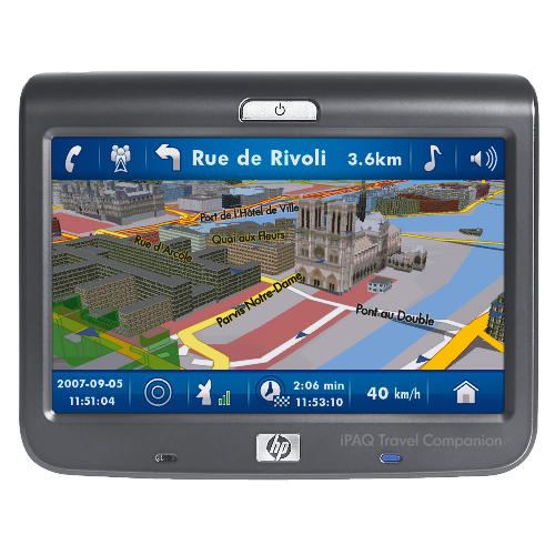 HP IPAQ 314 TRAVEL COMPANION - GPS RECEIVER
