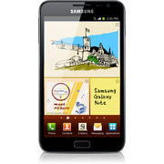 SAMSUNG GALAXY NOTE MOBILE PHONE  BLACK