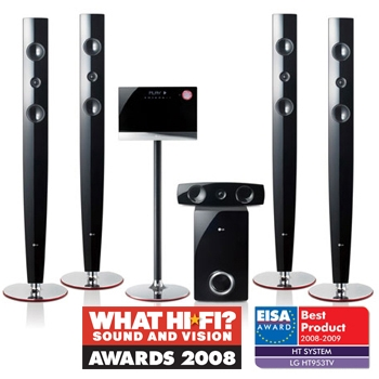 LG HT953TV 5.1CH HOME CINEMA SYSTEM WITH USB