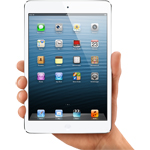 IPAD MINI WITH WI-FI + CELLULAR 16GB - WHITE & SILVER