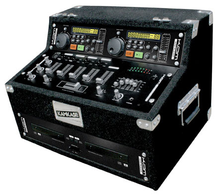 KAM KBCD BUDGET CD & MIXER KIT WITH ANTISHOCK CD PLAYER