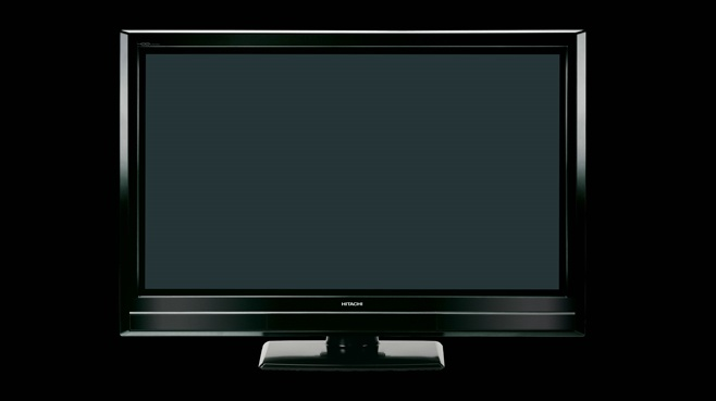 HITACHI P50XR01: 50 INCH PLASMA FULL HDTV WITH 250 GB HARD DISK