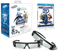 SAMSUNG SSG-3100GB 3D GLASSES TWIN PACK INC. MEGAMIND