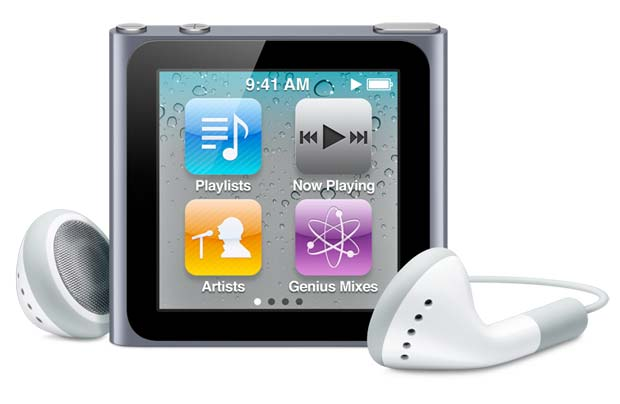 New Apple iPod nano, 8GB, Black
