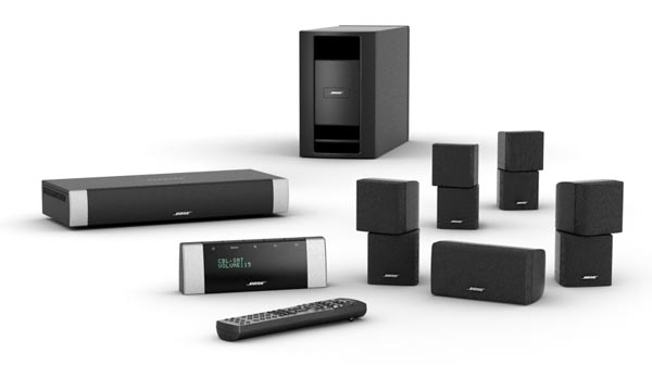 BOSE BOSE LIFESTYLE® V20 BLACK LIFESTYLE® V20 HOME ENTERTAINMENT