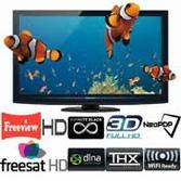 "PANASONIC 42"" TX-P42GT20B FULL 1080 3D PLASMA TV  FREEVIEW HD"