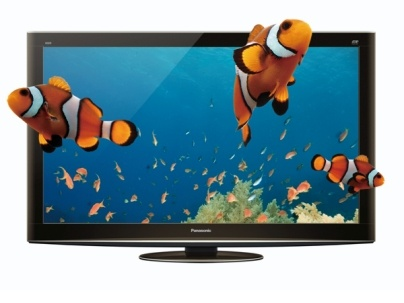 "PANASONIC 50"" TX-P50VT20B FULL 1080 3D PLASMA TV FREEVIEW HD"