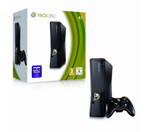 MICROSOFT Xbox 360 Game Console - 4GB